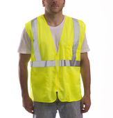 Job Sight™ Class 2 Zip-Up Mesh Vest