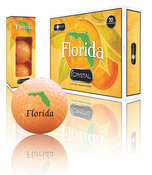 FLORIDA LOGO ON ORANGE BALL (1 dozen)