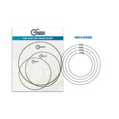 CCE-C Classic Clear Essentials Studio Tom Pack with FREE Studio Rings