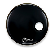 "18"" Regulator Off-Set Hole Gloss Black"