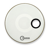 "18"" Regulator Off-Set Hole Gloss White"