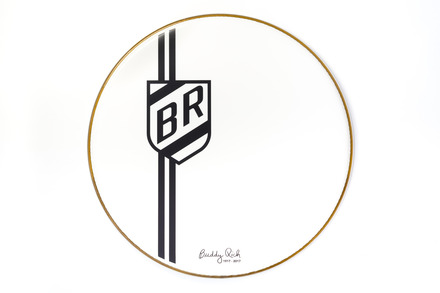 "22"" Buddy Rich Commemorative Bass Drum Head picture"