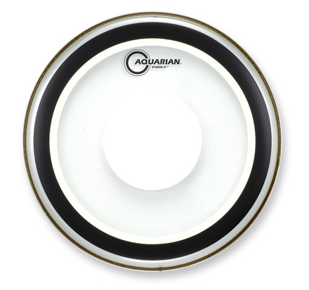"16"" Studio-X Clear Bass Drumhead With Power Dot picture"