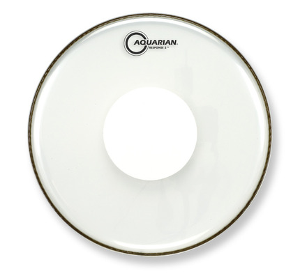 "18"" Response 2 Clear Bass Drumhead With Power Dot picture"