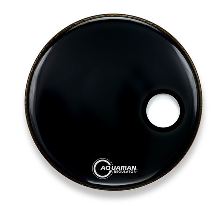 "22"" Regulator Off-Set Hole Gloss Black picture"