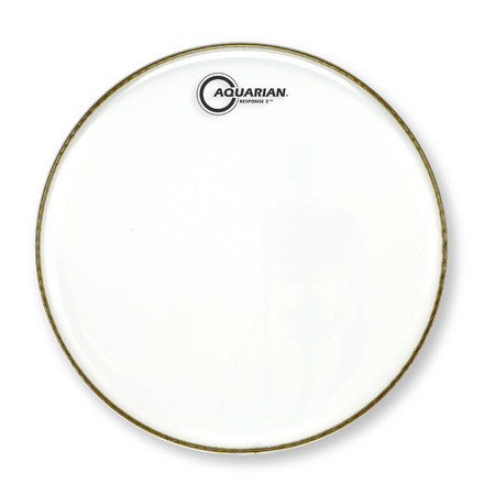 "12"" Response 2 Drumhead Clear picture"