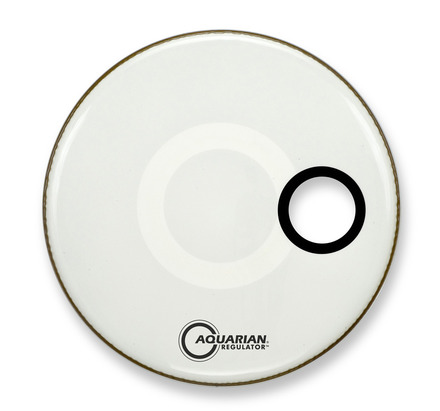 "24"" Regulator Off-Set Hole Gloss White picture"