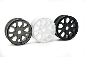 89074W White Wheel , 2 Pcs picture