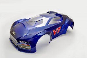 85052BU VT PRINTED BODY - BLUE picture