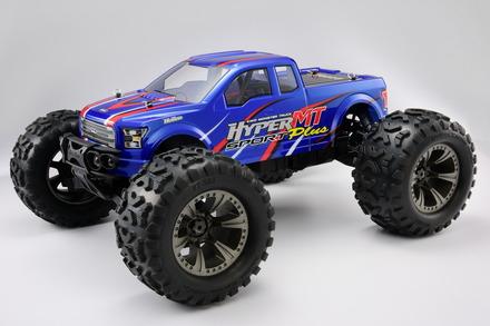 1/8 Hyper MT plus Nitro RTR w/ 30 Turbo Engine (Blue Body) picture