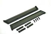 230114 CNC Alu. Pedals (Black), 2 Pcs