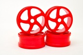 224058R WHEEL(ORANGE)  4 PCS