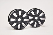 90070B GTB WHEEL (BLACK), 2PCS
