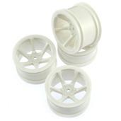 11274W Mini St 6-Spoke Wheel Set-White