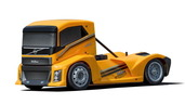 Hyper EPX 1/10 Semi Truck On-Road ARR--Yellow Paint body
