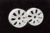 90070 GTB WHEEL (WHITE), 2PCS