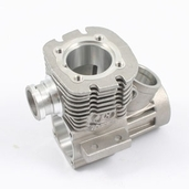 18015 H18 Crankcase, W/Front & Rear Bearing