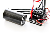 89420WP 1/8 150 A   BRUSHLESS  SPEED  CONTROLLER  &  2000 KV  MOTOR  SET