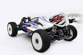 1/8 Hyper VS Buggy GP, RTR W/ Blue Body  (Ultra LX-3)
