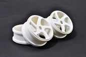 224058W WHEEL(WHITE)  4 PCS