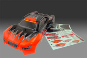 11036R PRINTED  BODY -  ORANGE ,W/DECAL