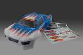11036B PRINTED  BODY - BLUE ,W/DECAL