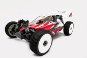 1/8 Hyper VS Buggy GP, RTR W/ Red Body (Ultra LX-3)