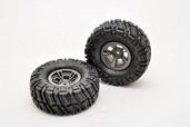 """230048 Wheels & Tires Set (1.9"""") , 2 pcs."""