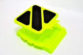 84126Y CAR STAND, YELLOW
