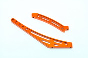 OP-0050 CNC F/R CHASSIS STIFFENER SET FOR SS EP
