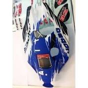 88077HBU Hyper 8 body Blue