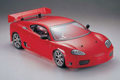 87506R Printed Body Shell ?V  Red