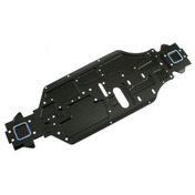 89619 Star Cnc Chassis  - Hard Coating Black