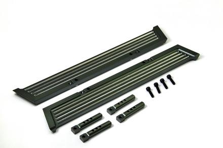 230114 CNC Alu. Pedals (Black), 2 Pcs picture