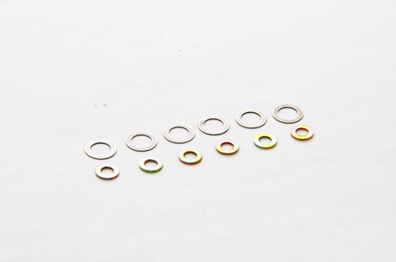 84187W WASHER M 3 X 6: 6 PCS,  M 5 X 8: 6 PCS picture