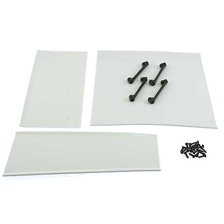 88510 S8  Rear Big Wing- 1 Pc, Med. Wing - 2 Pcs picture
