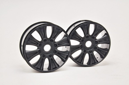 90070B GTB WHEEL (BLACK), 2PCS picture
