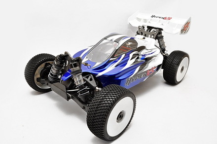 1/8 Hyper VSE Buggy EP, RTR W/ Blue Body RTR (Ultra LX3e) picture