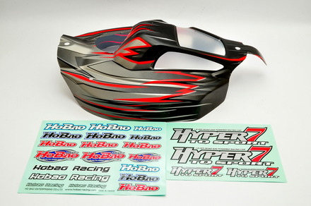87605 Hyper 7 TQ Body (Black) picture