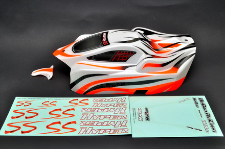 90062RG NEW HYPER SS ELECTRIC PRINTED BODY( ORANGE ) picture