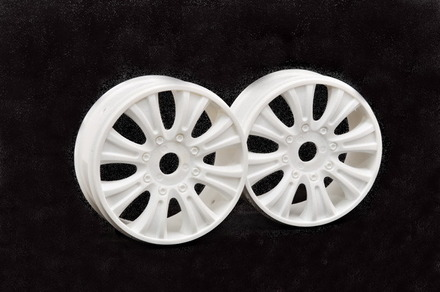 90070 GTB WHEEL (WHITE), 2PCS picture