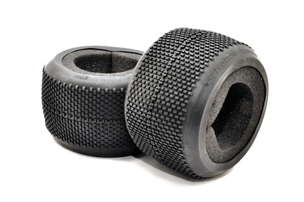 BT-301 1/8 TRUGGY TIRE WITH FOAM INSERT, 2 PCS picture