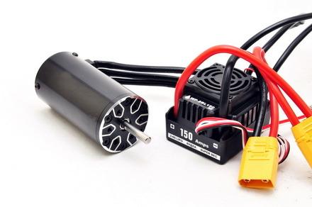89420WP-1  Waterproof ESC 150A (XT90 Plug) & 2000KV Motor Set picture