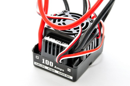 89341WP 1/8 100A WATER PROOF ESC. picture