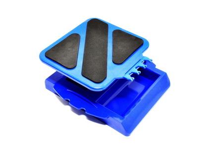 84126BU CAR STAND, BLUE picture