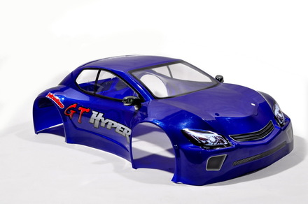 90075BU HYPER GT NEW PAINTED BODY  SHORT (BLUE) picture