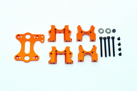OP-0052 CNC Center Diff. Mount Set for SS EP, GTB EP/GP picture