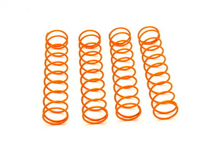 OP-0135 Hyper MTE2 Shock Spring Hard- Orange, 4 Pcs picture