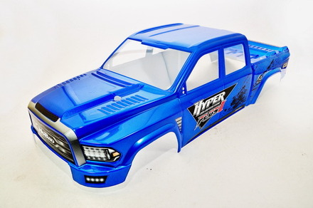 94111BU  MT Plus II Painted Body Shell- Blue picture