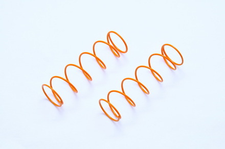 OP-0045 SS FRONT SHOCK SPRING-ORANGE, 2PCS picture